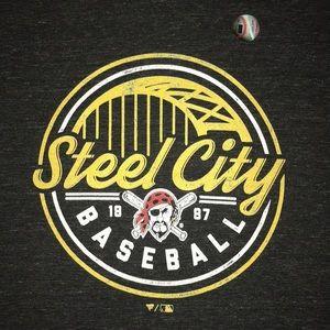"Pittsburgh Pirates ""Steel City"" shirt"